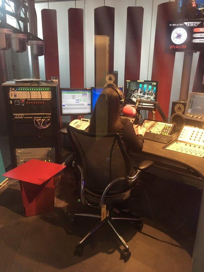 Bex back on bbc